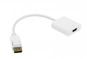 Кабель-переходник DisplayPort -> HDMI 0.1 метра