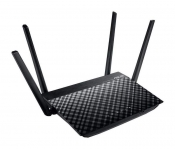 WiFi-маршрутизатор Б/У ASUS RT-AC1300G PLUS / WiFi 2.4ГГц/5ГГц 802.11a/b/g/n/ac, 4 порта 1000Мб/сек