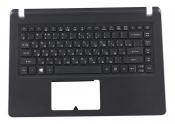 Клавиатура для ноутбука Acer Aspire ES1-432 оригинальная топкейс черный, клавиши черные