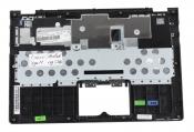 Клавиатура для ноутбука Б/У Lenovo IdeaPad Yoga 11 топкейс черный, клавиши черные, без тачпада
