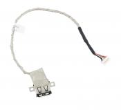 Разъем USB с кабелем для ноутбука ASUS K54L / 14004-00190000