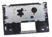 Клавиатура для ноутбука ASUS TP412UA топкейс серебристый, клавиши черные
