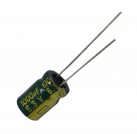 Конденсатор 6.3 В 1000 мкФ, 8х12 мм