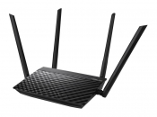WiFi-маршрутизатор Б/У ASUS RT-AC1200E / WiFi 2.4ГГц/5ГГц 802.11a/b/g/n/ac, 4 порта 100Мб/сек