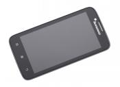 """Модуль для смартфона 4.5"""" Lenovo IdeaPhone A328 черный ORIGINAL с рамкой"""