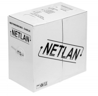 Кабель UTP NETLAN cat 5e, 4 пары 1 метр (медь) в коробке