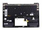 Клавиатура для ноутбука ASUS UX331UA топкейс черный, клавиши черные / уценка