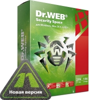 ПО Антивирус Dr.Web Security Space 1 ПК на 1 год / 11 версия