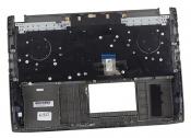 Клавиатура для ноутбука ASUS GL502VS топкейс серый, клавиши черные, подсветка, динамики / уценка