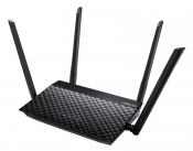 WiFi-маршрутизатор Б/У ASUS RT-N19 / WiFi 2.4ГГц 802.11b/g/n, 2 порта 100 Мб/сек