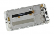 "Модуль для смартфона Б/У 5.5"" ASUS ZenFone 3 Max ZC553KL белый с рамкой"