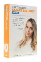 ПО Антивирус ESET NOD32 Smart Security Family (3 ПК на 1 год или продление на 20 мес)