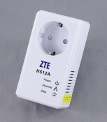 Адаптер Powerline ZTE PLC Mini Passthrough H512A