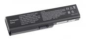 АКБ для ноутбука Toshiba (PA3634U-1BRS) / 10.8V, 4400 mAh / Portege M800, Satellite A660 черная