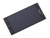 """Модуль для смартфона 5"""" Lenovo P70 черный ORIGINAL с рамкой"""