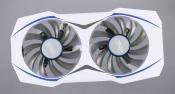 Вентиляторы для видеокарты Б/У ASUS DUAL RX460-02G с рамкой