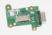 Плата кнопки включения ноутбука ASUS N76VM (с разъемом VGA)