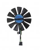 Вентилятор для видеокарты Б/У ASUS GeForce ROG GTX 1060 (средний)