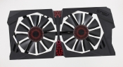 Вентиляторы для видеокарты Б/У ASUS STRIX-R7 370-DC20C GAMING с рамкой