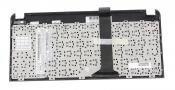 Клавиатура для ноутбука ASUS EEE PC 1015 черная с коричневой рамкой