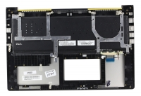 Клавиатура для ноутбука ASUS UX51VZ топкейс серебристый, клавиатура черная / 90R-NWO1K2B80Y