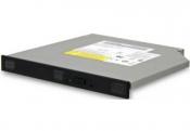 Привод для ноутбука Б/У DVD+/-RW SATA black 12mm