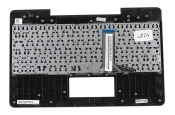 Клавиатура для док-станции ASUS T100TA топкейс фиолетовый, клавиши черные, без тачпада