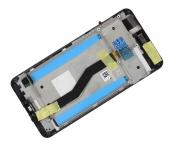 """Модуль для смартфона 5.5"""" ASUS Zenfone 3 Zoom ZE553KL черный ORIGINAL с рамкой"""