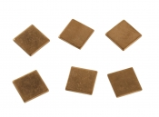 Медная пластина 15 * 15 * 0,8 мм