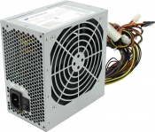 Блок питания Б/У 500W / 120mm cooler / 20+4pin