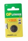 Батарея для мат.платы GP CR2025-BC5 1шт