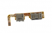 Шлейф с лотком SIM-карты и разъемом MicroSD Б/У ASUS VivoTab RT TF600T Rev 1.2G