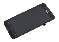 """Модуль для смартфона 5"""" ASUS ZenFone Go ZC500TG черный ORIGINAL с рамкой"""