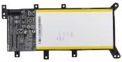 АКБ для ноутбука ASUS (C21N1347) ORIGINAL / 7.6V, 5000mAh / X555LA X555MA черная