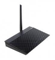 Маршрутизатор ASUS DSL-N10 WiFi 2.4 ГГц 150 Мбит/сек, LAN 100 Мбит/сек, IEEE 802.11b/g/n, черный
