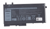 АКБ для ноутбука Dell (R8D7N) оригинальная / 11.4V, 4255mAh / Latitude 5500 черная