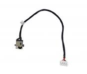 Разъем питания ASUS X552ZE c кабелем