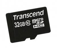 Карта памяти MicroSDHC 32Gb Transcend Class 10 (PREMIUM 200x) / TS32GUSDC10