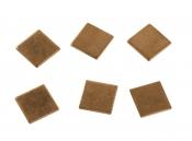 Медная пластина 15 * 15 * 1,0 мм