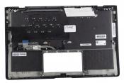Клавиатура для ноутбука Б/У ASUS UX391UA топкейс синий, клавиши синие, с подсветкой