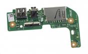 Плата интерфейсная для ноутбука Б/У ASUS X555UF (Audio, USB, карт-ридер)