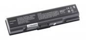 АКБ для ноутбука Toshiba (PA3534U-1BRS) / 10.8V, 5200mAh /A200, A300, A350 черная
