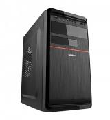 Корпус Velton 7808A-Red Mini-Tower mATX черный с блоком питания 450W
