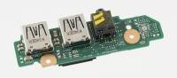 Плата интерфейсная для ноутбука ASUS K46CB (Audio, 2x USB)