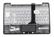 Клавиатура для док-станции ASUS TF300T топкейс темно-серый, клавиши черные, без тачпада