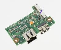 Плата интерфейсная для ноутбука ASUS G73JW (USB2.0, LAN)