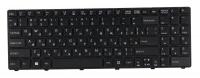 Клавиатура для ноутбука DNS 0123257 черная с рамкой
