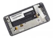 """Модуль для смартфона Б/У 4.3"""" ASUS PadFone Mini A11 белый ORIGINAL с серой рамкой"""