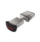 Флеш-накопитель (USB 3.0, 32Gb) SanDisk Ultra Fit серая / SDCZ43-032G-GAM46