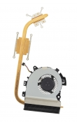 Вентилятор Б/У ASUS PU551LD с термотрубкой (дискретная видеокарта)